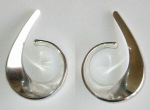 'Sling', 1958Earcuffs, silver.