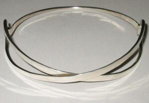 Collar, 1960sThe 'Loop Series', Silver.