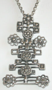 Pendant, 1960s, Silver.