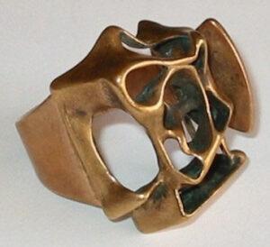 Ring, 1960s, Bronze